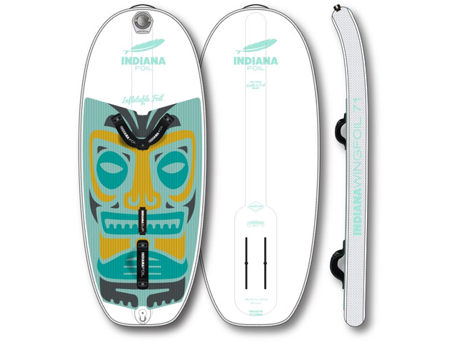 Indiana SUP Wing Foil 71 Inflatable Foil Boards, blanco/Multicolor